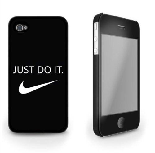 Nike Swoosh Just Do It iPhone 5/5s Hard Case