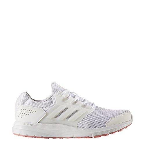 adidas Galaxy 4 - Zapatillas de Entrenamiento Mujer Blanco (Footwear White/footwear White/tactile Rose)