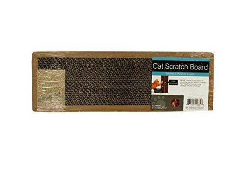 Bulk Buys DI248-72 Cat Scratch Board with Catnip44; 72 Piece by bulk buys