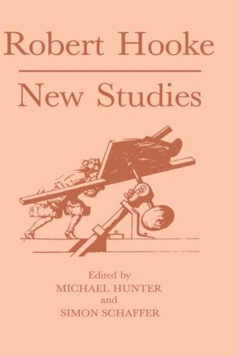 Robert Hooke: New Studies