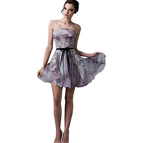 dressvip - Vestido - Sin tirantes - para mujer