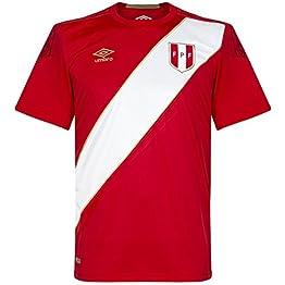 Umbro 2018-2019 Peru Away Football Soccer T-Shirt Maillot