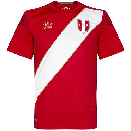 (Umbro 2018-2019 Peru Away Football Shirt)