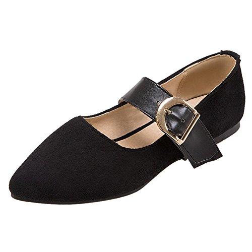 Femmes Mary Black Taoffen Chaussures Jane Classique 7Twd8xa