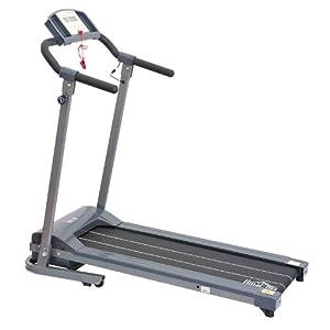 Elektrisches Laufband mit LED Display Heimtrainer Fitnessgerät 500 W