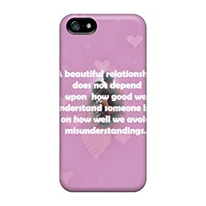 DeannaTodd Snap On Hard Cases Covers Relationship Protector For Iphone 5/5s