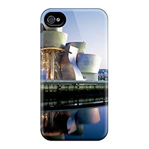 Awesome NEM2575sHXl TianMao Defender Tpu Hard Case Cover For Iphone 4/4s- Guggenheim Museum Bilbao Spain