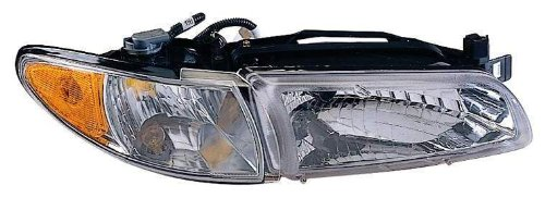 Depo 332-1177R-USC Pontiac Grand Prix Passenger Side Replacement Headlight Unit without Bulb with Corner ()
