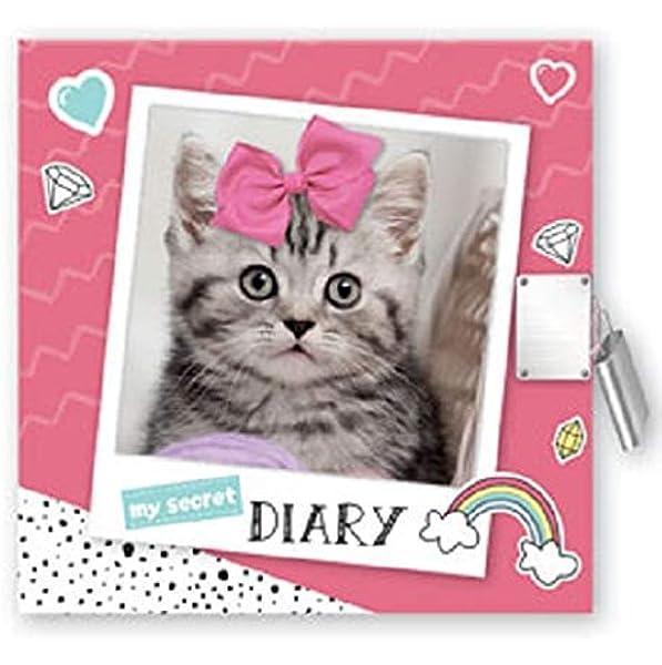 2019 Secret Diary Mermaid Unicorn Design Pink Green Girls Lock Key Book DDSGIR19