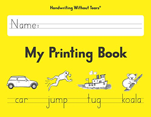 Learning Without Tears  My Printing Book  2013 Edition  Student Workbook