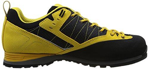 Asolo Magix Mm - Zapatillas de Senderismo de cuero hombre Amarillo - Jaune (A562 Black/Yellow)
