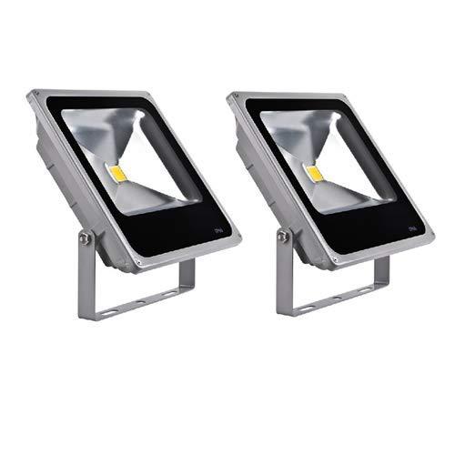 S-D Shop - 2 Faros Delanteros LED, Foco proyector blanco frío ...