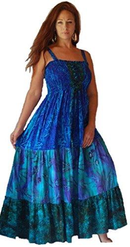 Ruffled Tier Dress - 8