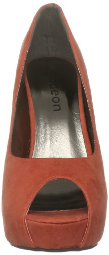 Women's Toe Open Nia Orange Odeon Szwaxa