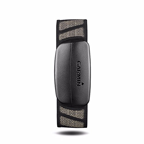 Garmin 010-10997-07 Premium Heart Rate Monitor Strap, Black, One Size
