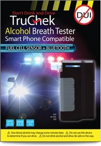 TruChek-Alcohol-Breath-Tester-Fuel-Cell-Sensor-BlueTooth-Black
