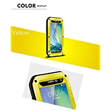 TR.OD Love Mei Gorilla Glass Aluminum Metal Perfectly Fits Case For Samsung A5 Casual Cute Convenient Yellow