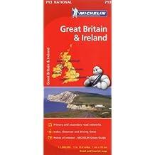 Michelin Great Britain & Ireland Map 713