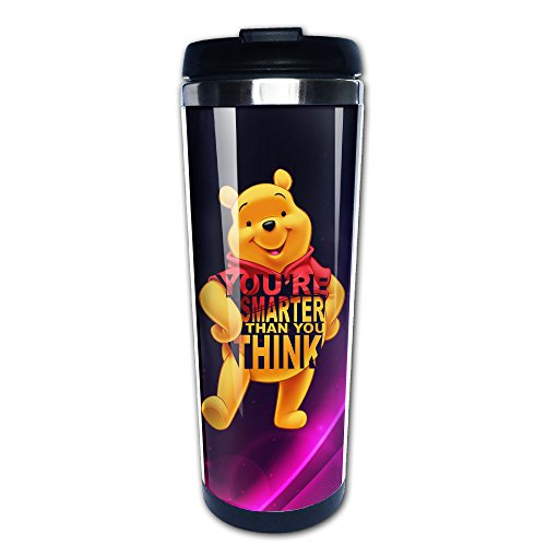 iayayo-winnie-the-pooh-you-are-smarter-than-you-think-stainless-steel-mug-coffee-vacuum-flask