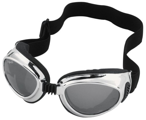 2013 Pacific Coast Sunglasses Airfoil 8010 Comfort Flex Frame Goggles - Chrome