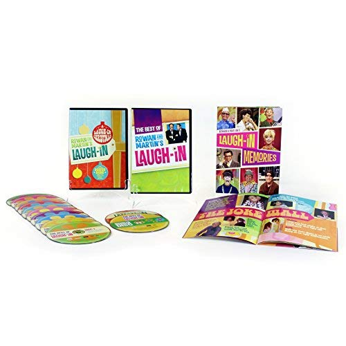 Rowan and Martin's Laugh-In Best of 6 Seasons 12 DVD Collection by Time Life