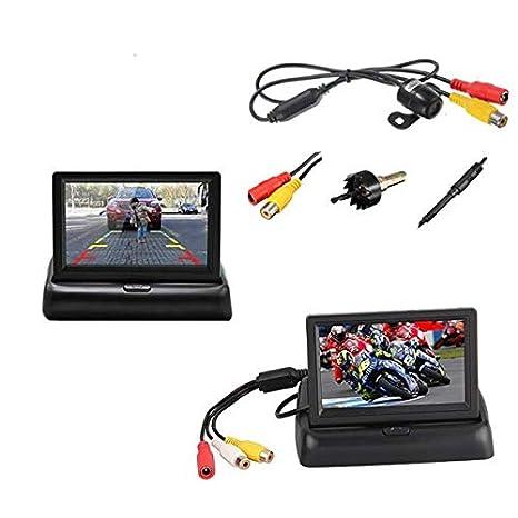 Scrivania Con Monitor A Scomparsa.Sistemi Audio Video Per Auto Retrocamera Telecamera Parcheggio Con