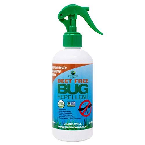 Free Repellent - Greenerways Organics, Organic Bug Repellent, DEET-Free, Safe for Kids and Pets, 12 oz