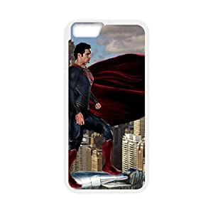 iPhone 6 4.7 Inch Cell Phone Case White Superman Back Hard Phone Case Cover XPDSUNTR08971
