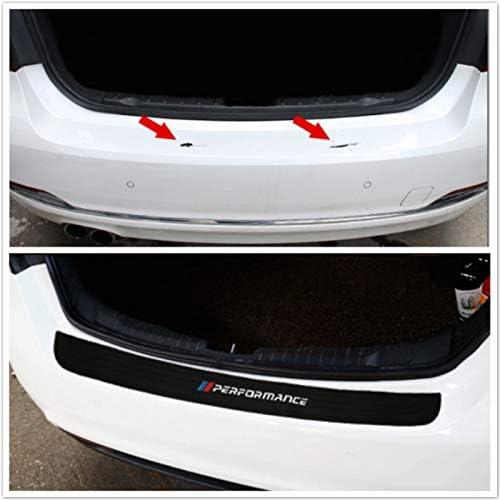 Protector de parachoques adhesivo para 1 2 3 4 5 7 Serie M3 M4 M5 X1 E36 E39 E46 E90 F30 F10 Auto tronco Trasero Parachoques Trimmen placa de protecci/ón