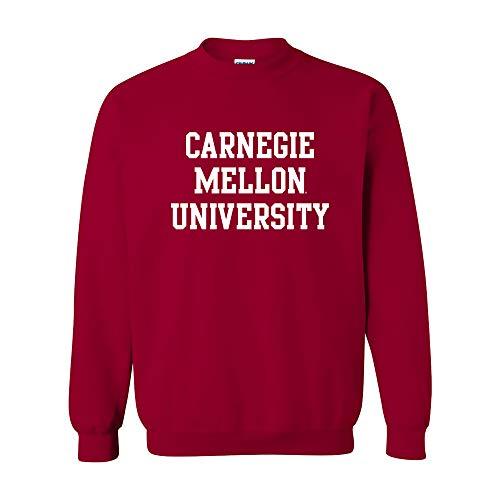 (AW01 - Carnegie Mellon Tartans Basic Block Crew Sweatshirt - Small - Cardinal)