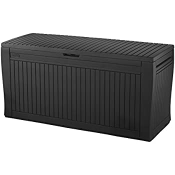 Superieur Keter Comfy 71 Gallon Resin Plastic Wood Look All Weather Outdoor Storage  Deck Box, Brown