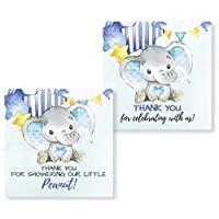 Elephant Stickers Thank You & It