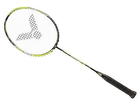 Victor Jet Speed S 08 Speed Series Unstrung Badminton Racket 5U/G5 (Green) Badminton Racquets at amazon