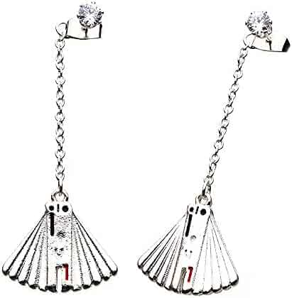 shopping 25 to 50 sun moon stars jewelry men clothing Flag Pole Clip Art officially licensed star wars enfys nest fan dangle earring set base metal stainless steel