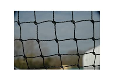 HENRY COWLS 5m x 5m 50MM MESH GARDEN BIRD NETTING Black by Henry Cowls