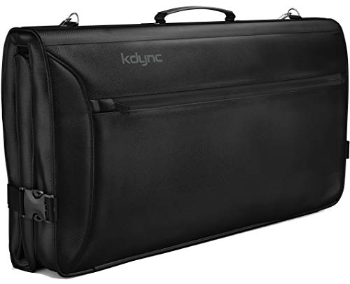 Kdync Suit Carry on Trifold Garment Bag for Travel and Business Trips - Waterproof and Luggage Carry-on Compliant