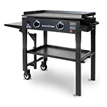 Blackstone 1517 28 inch Outdoor Flat Top Gas Grill Griddle Station - 2-burner - Propane Fueled - Restaurant Grade - Professional Quality
