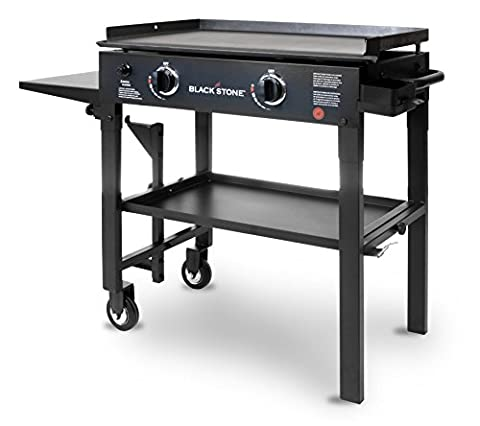 Blackstone 28 inch Outdoor Flat Top Gas Grill Griddle Station - 2-burner - Propane Fueled - Restaurant Grade - Professional - 4 Burner Gas Grill
