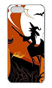 Halloween Witches Polycarbonate Hard Case Cover for iPhone 5/5S ¡§C Transparent