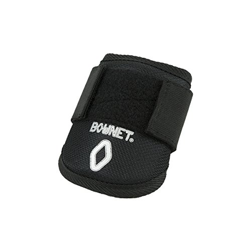 Hitters Guard Elbow - Bownet Baseball / Softball Youth Elbow Guard, Black, One Size