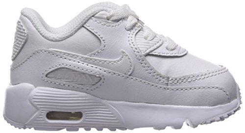 Nike Air Max 90 LTR (TD), Zapatillas de Trail Running Unisex Niños Blanco (White/White 100)