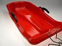Kinder-Schlitten Rodel Bob mit Bremsen (rot)