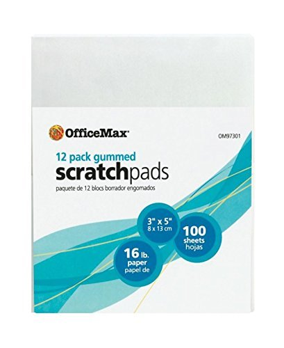OfficeMax Scratch Pad, 3