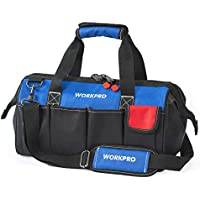 WORKPRO 18-inch Close Top Wide Mouth Storage Tool Bag...