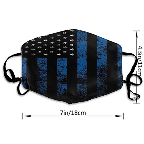 American Flag Adult Various Protective Fashion Air Mask | Face Mask | Anti Pollution Dust Mask | Washable And Reusable