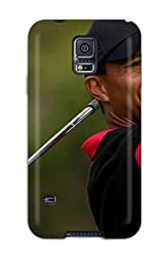 Premium Tiger Woods Back Cover Snap On Case For Galaxy S5