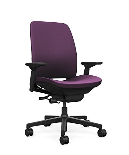 Steelcase Amia Task Chair: Black Frame/Base   4 Way Adjustable Arms    Standard