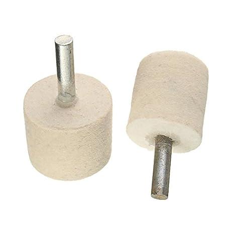 ILS - Kit Rueda Pulido Lana con 2oz 60 g polvo Pulido de óxido cerio: Amazon.es: Electrónica