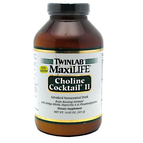 Maxilife Choline TWINLAB Cocktail II w/caféine 15,30 OZ