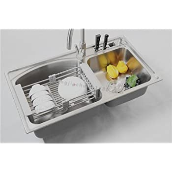 Amazon Com Dish Drainers Windspeed Extendable Over Sink